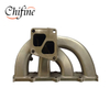 Stainless Steel Lost Wax Cast Exhaust Manifold for Auto Part
